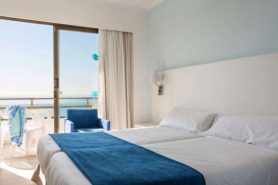 DOUBLE ROOM SEA VIEW in  Anba Romani